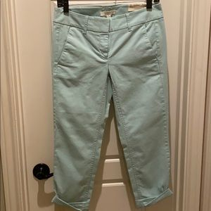 These are Ann Taylor Loft Petite chinos size 2.
